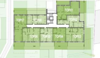 Grundriss EG Haus 4 Wohnpark Raaba