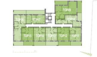 Grundriss OG1 Haus 4 Wohnpark Raaba