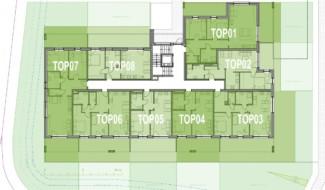 Grundriss EG Haus 5 Wohnpark Raaba