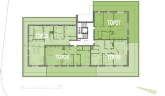 Grundriss OG3 Haus 5 Wohnpark Raaba