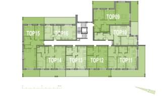 Grundriss OG1 Haus 7 Wohnpark Raaba