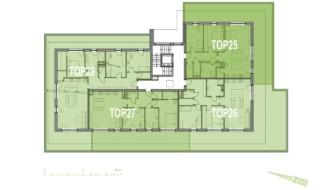 Grundriss OG3 Haus 7 Wohnpark Raaba